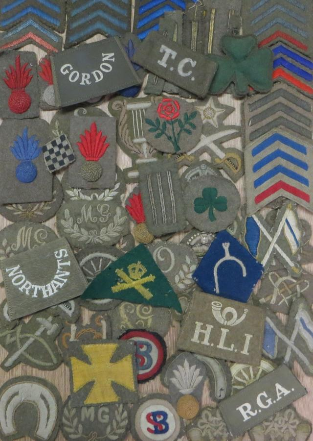 CLOTH TRADE AND FORMATION PATCHES