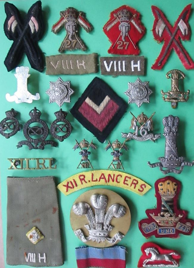 ALL CAVALRY BADGES