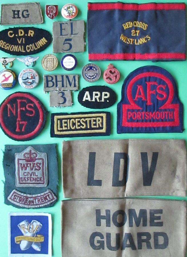 HOME FRONT BADGES
