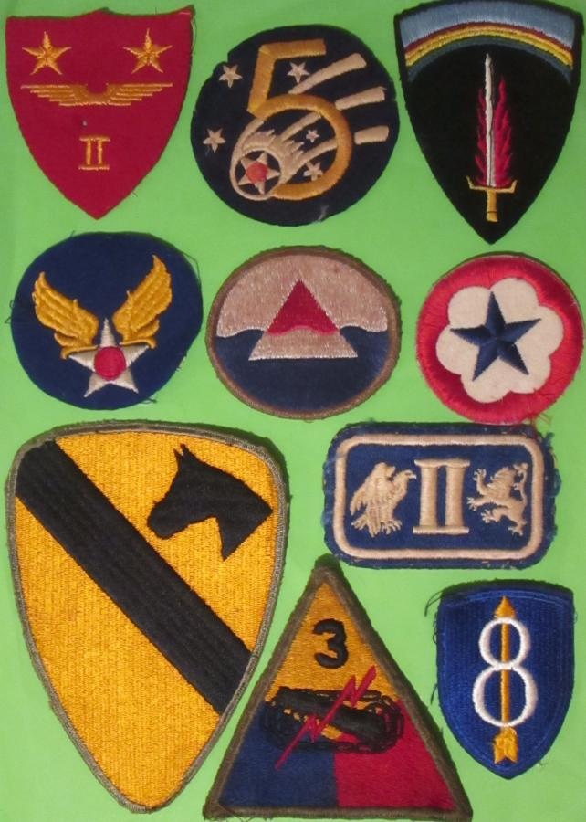 WWII US BADGES