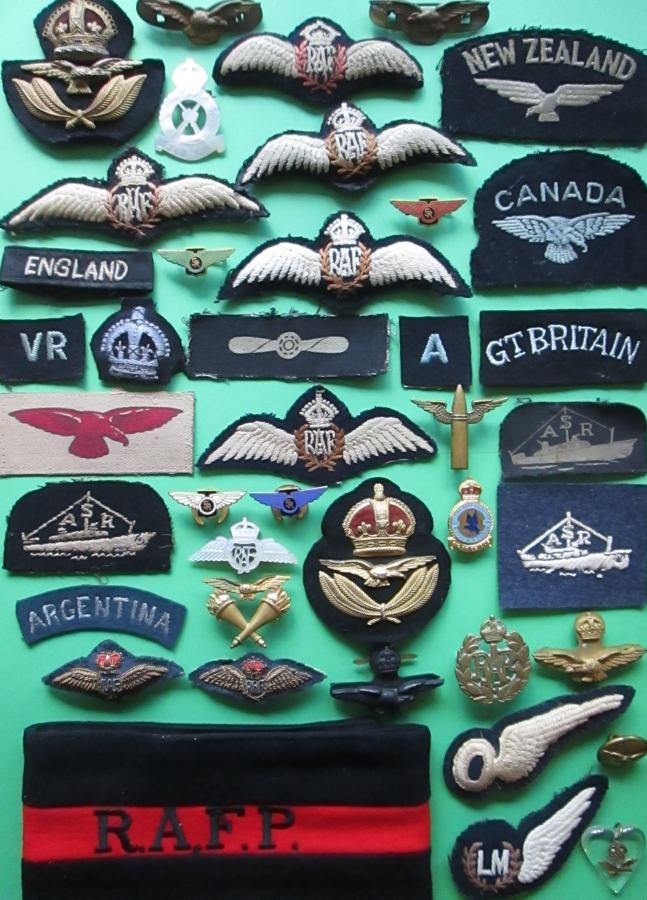 RAF BADGES