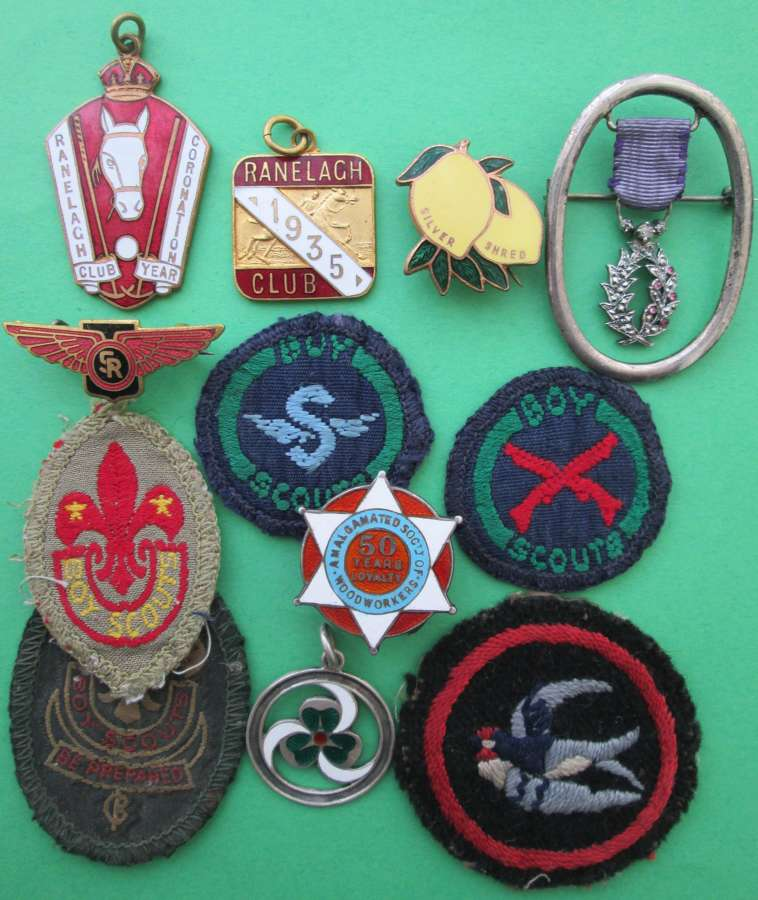 NON MILITARY BADGES