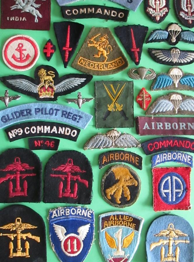 WWII & POST WWII SPECIAL FORCES BADGES