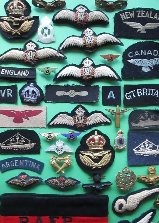 ALL RAF BADGES EASY BROWSE