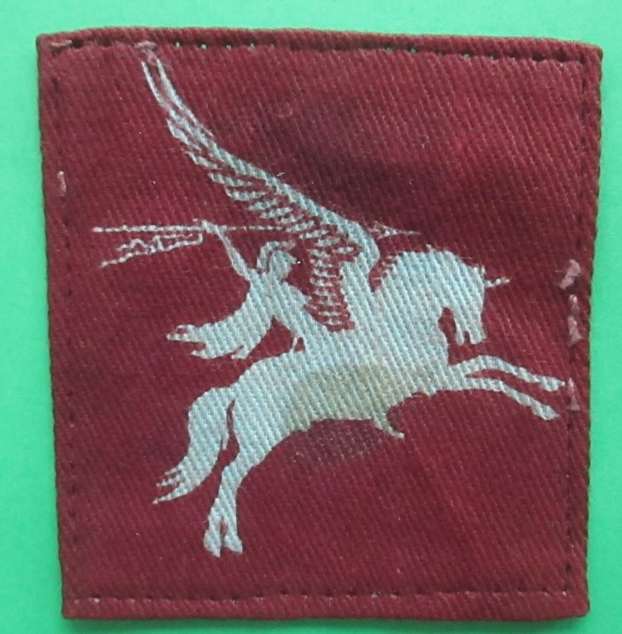 A PRINTED 1ST / 6TH AIRBORNE DIVISION PEGASUS PATCH
