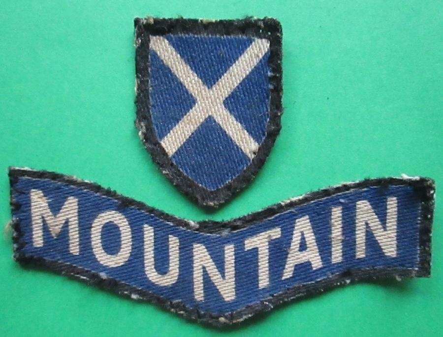 A 52nd LOWLAND DIVISION ( MOUNTAIN )