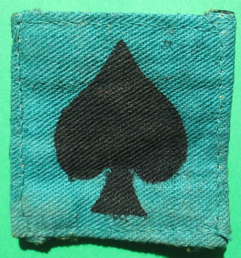 A 25th INDIAN DIVISION FORMATION PATCH