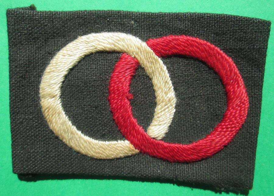 A 36th INDIAN DIVISION FORMATION PATCH