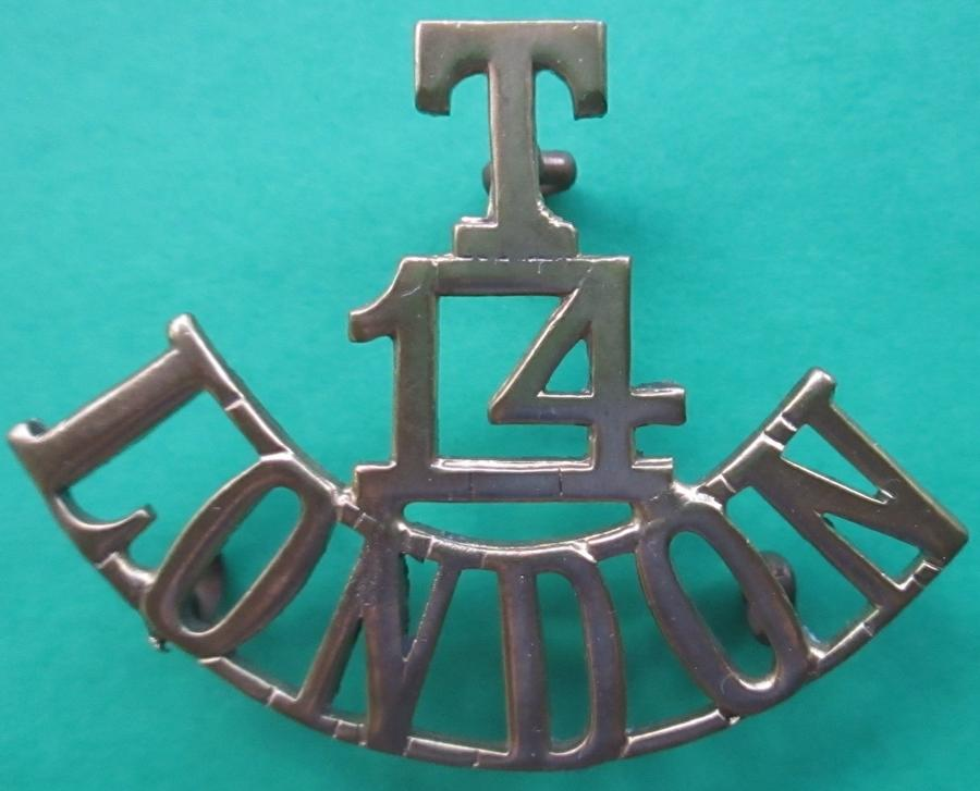 A TERRITORIAL 14th COUNTY OF LONDON ( LONDON SCOTTISH ) TITLE