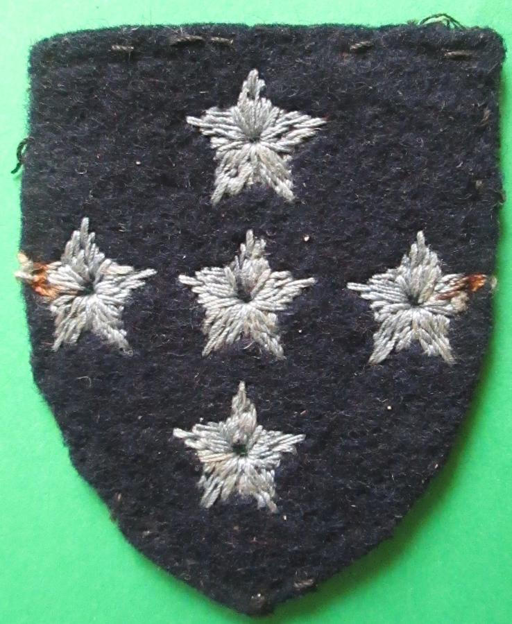 A RARE SOUTHERN COMMAND ARMY AIR CORPS FORMATION SIGN