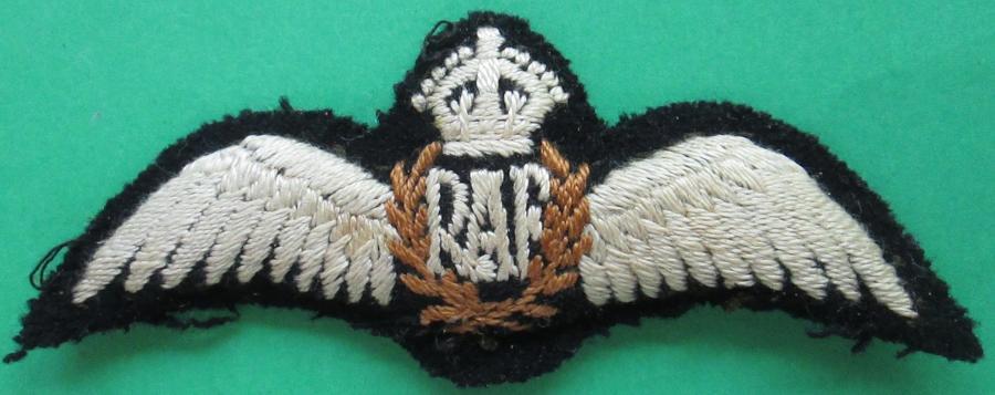 RAF PADDED PILOTS WINGS