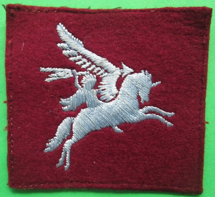 A POST WWII OFFICERS PRIVATE PURCHASE PEGASUS PATCH