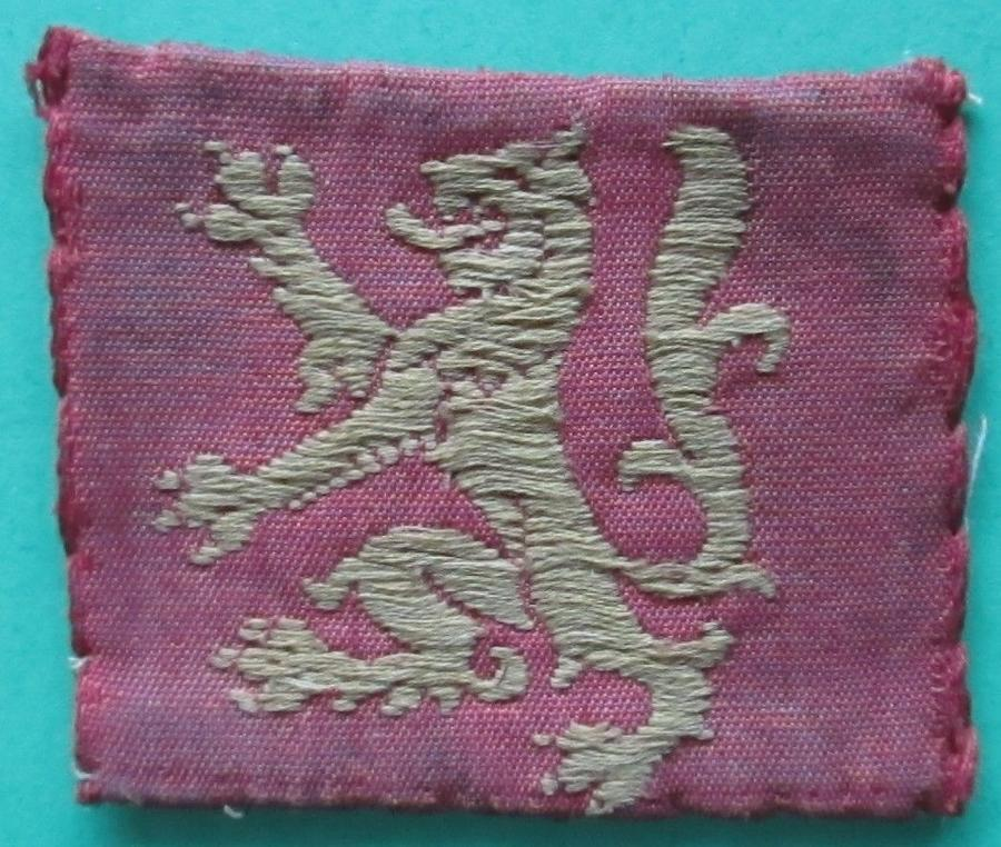 A WWII SCOTTISH COMMAND TROOPS FORMATION PATCH
