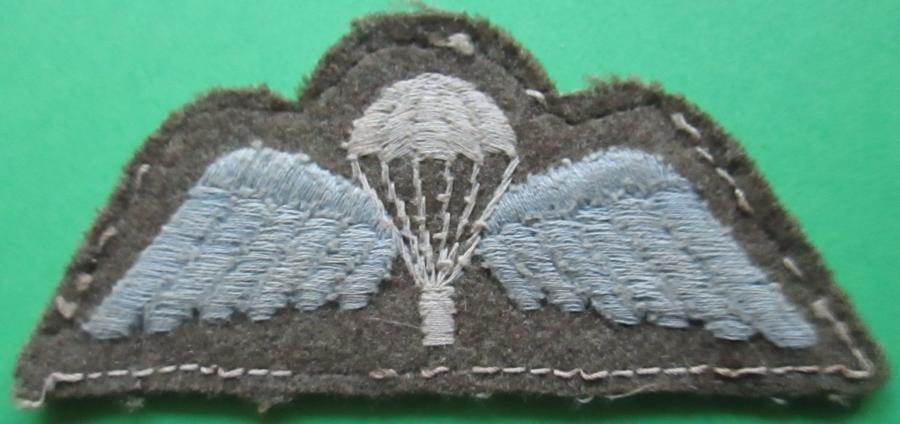 A GOOD USED PARACHUTE JUMP WINGS