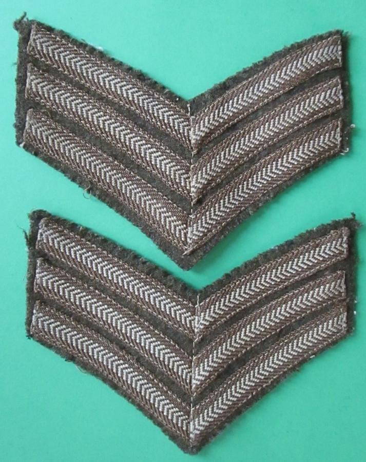 A MATCHING PAIR OF SGTS STRIPS