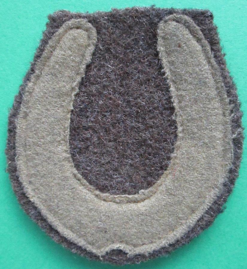 A WWI 37th DIVISION FORMATION PATCH
