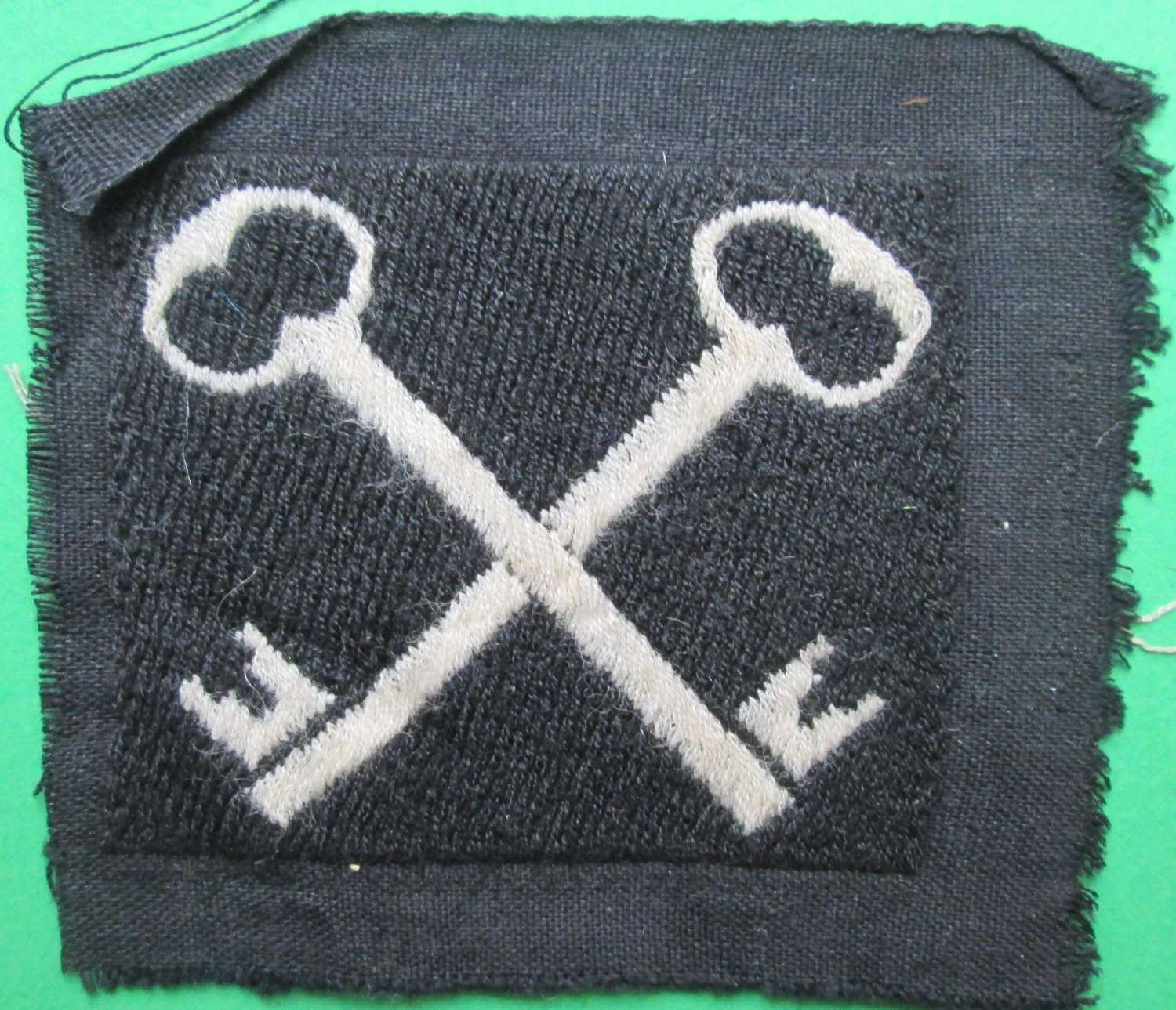 A 2ND INFANTRY DIVISION FORMATION PATCH