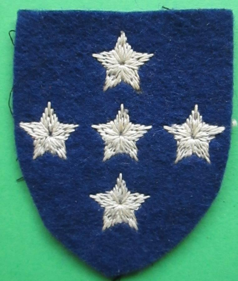 A FORMATION PATCH FOR THE ROYAL ARMY ORDNANCE CORPS
