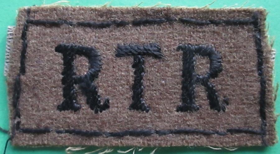 AN RTR SLIP ON SHOULDER TITLE