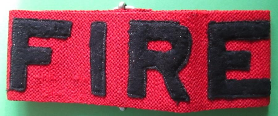 RED FIRE ARM BAND
