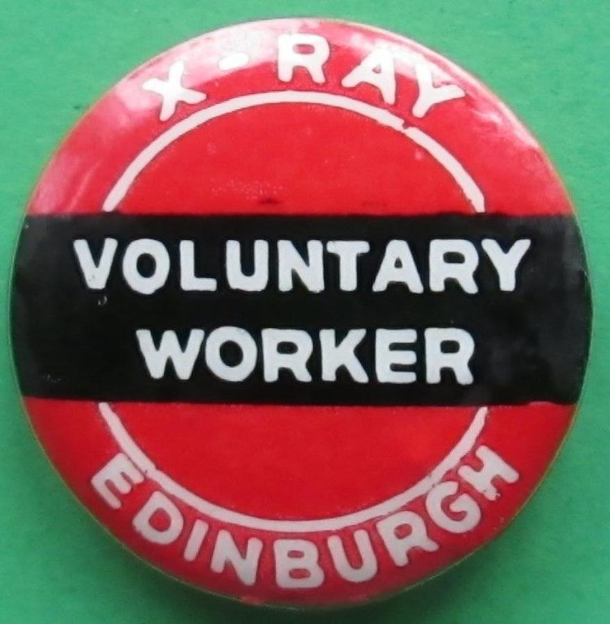 A VOLUNTARY WORKERS BADGE