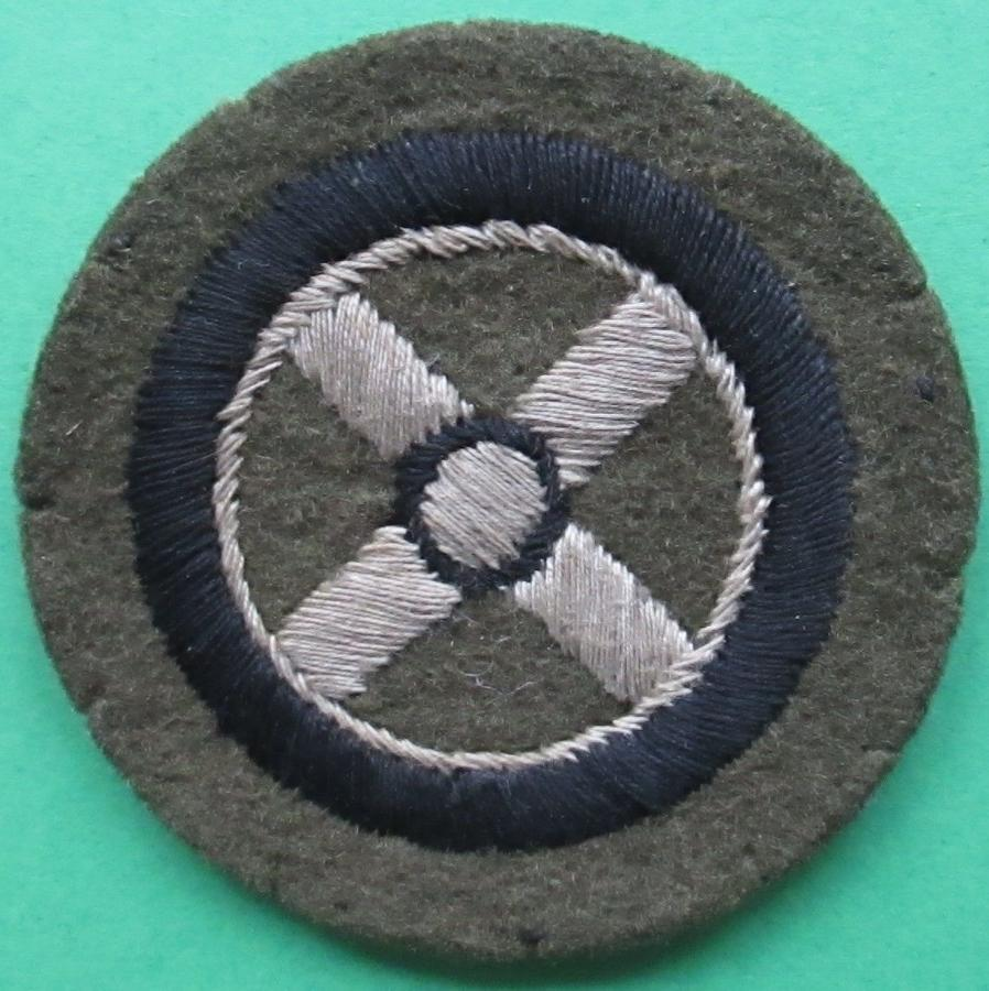 A SKILL AT ARMS BADGE FOR DRIVERS