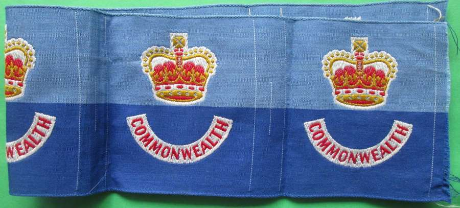 195O'S KOREA BRITISH COMMONWEALTH FORCES FORMATION SIGNS