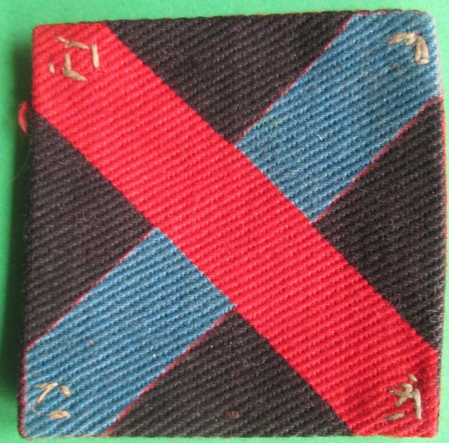 A 10th INDIAN DIVISION FORMATION PATCH