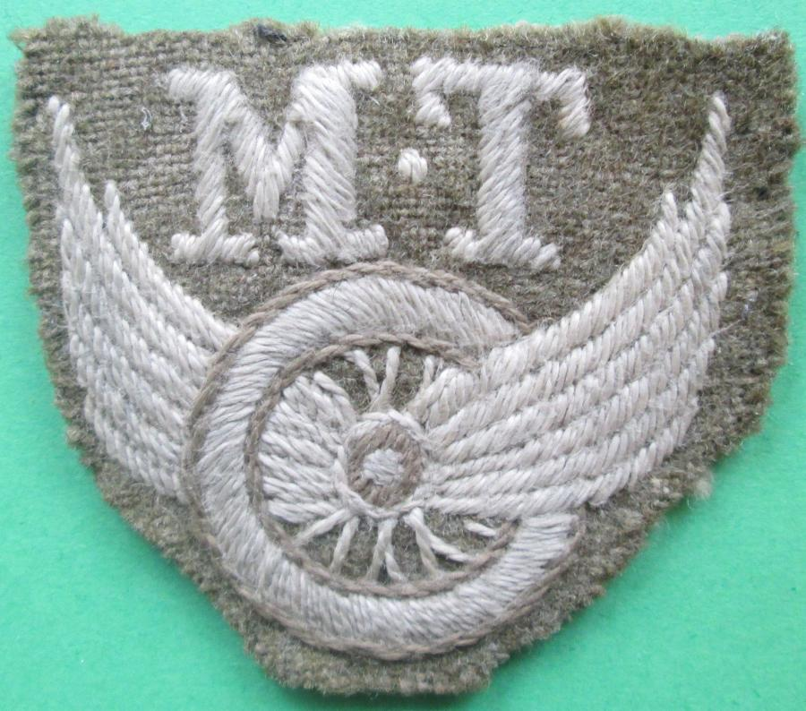 A GOOD EARLY WELL MADE EXAMPLE OF THE MT DRIVERS ARM BADGE