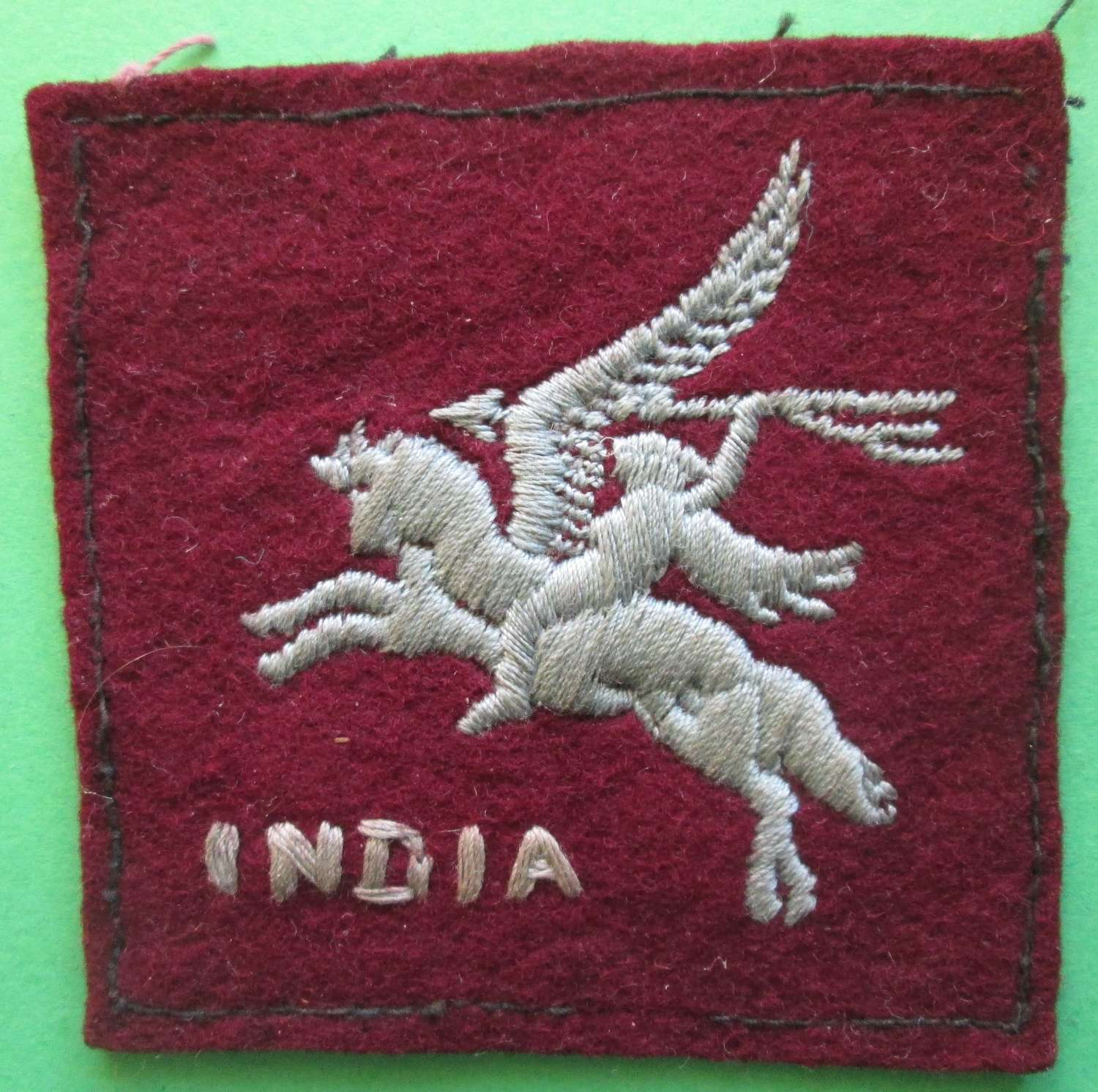 A 44TH INDIA AIRBOURNE DIVISION SIGN