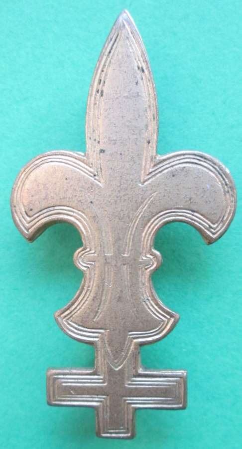 AN ARMY SCOUT BADGE WITH PIN