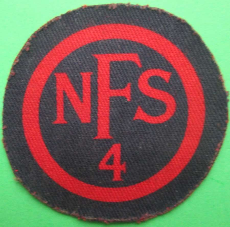 A NATIONAL FIRE SERVICE BADGE FOR ZONE 4