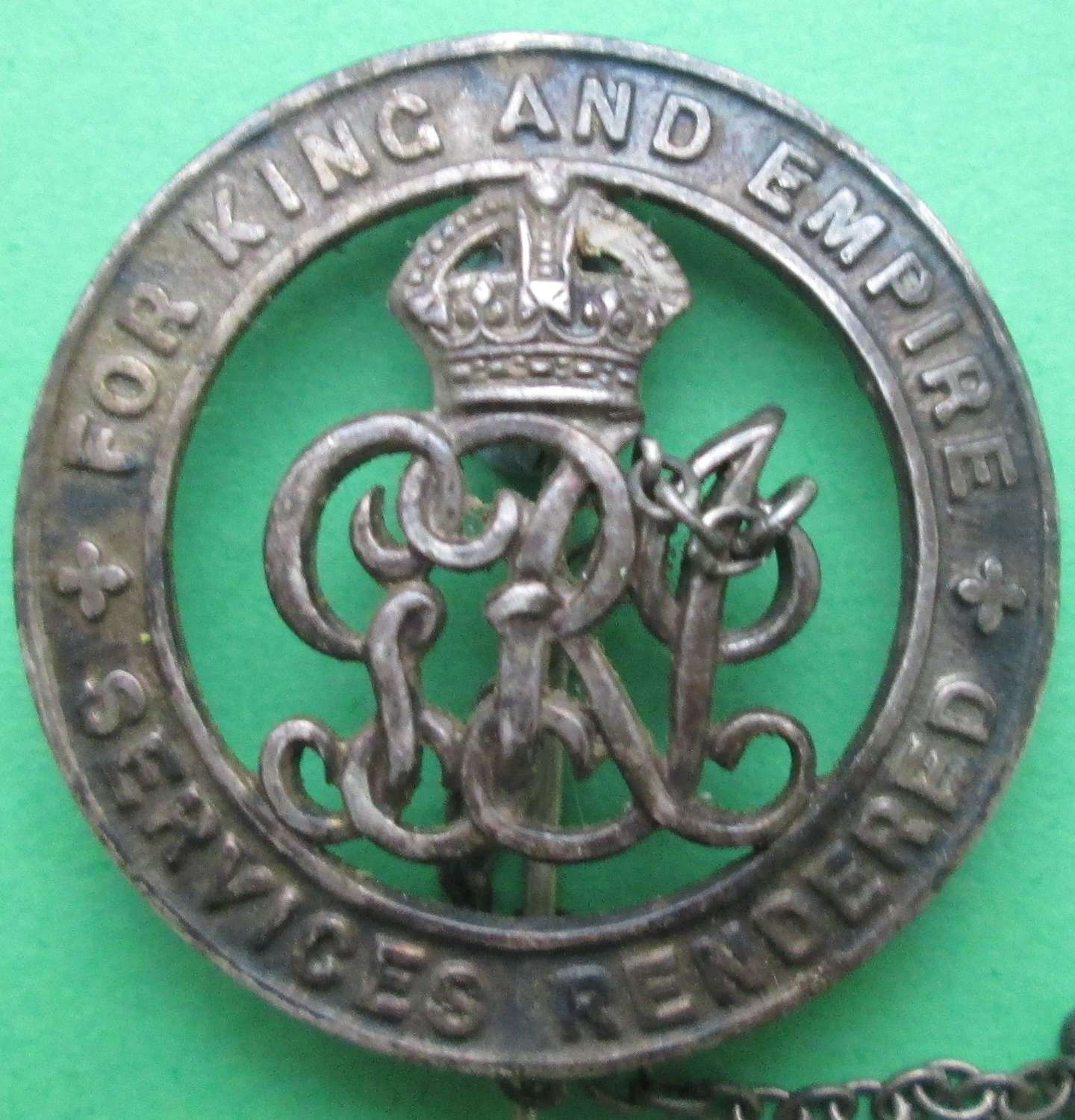WWI SILVER WOUND BADGE