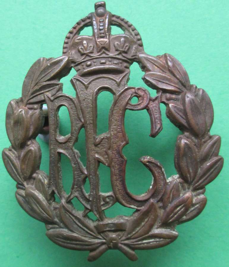 A WWI ROYAL FLYING CORPS OTHER RANKS CAP BADGE