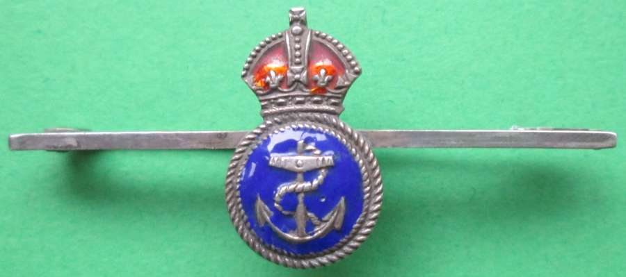 A PETTY OFFICERS BAR BROOCH / SWEETHEART BADGE
