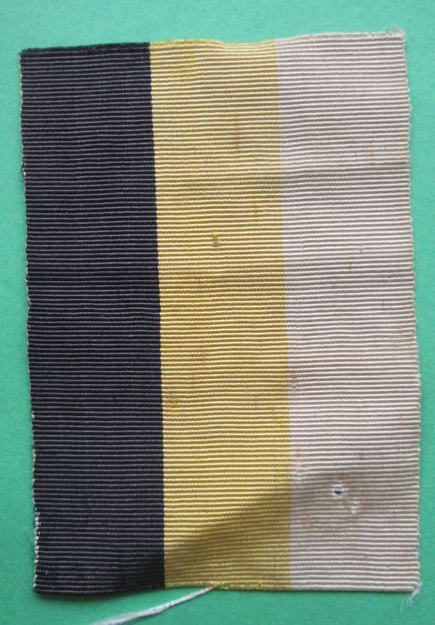 A WWII ROYAL ARMY SERVICE CORPS PUGARI FLASH