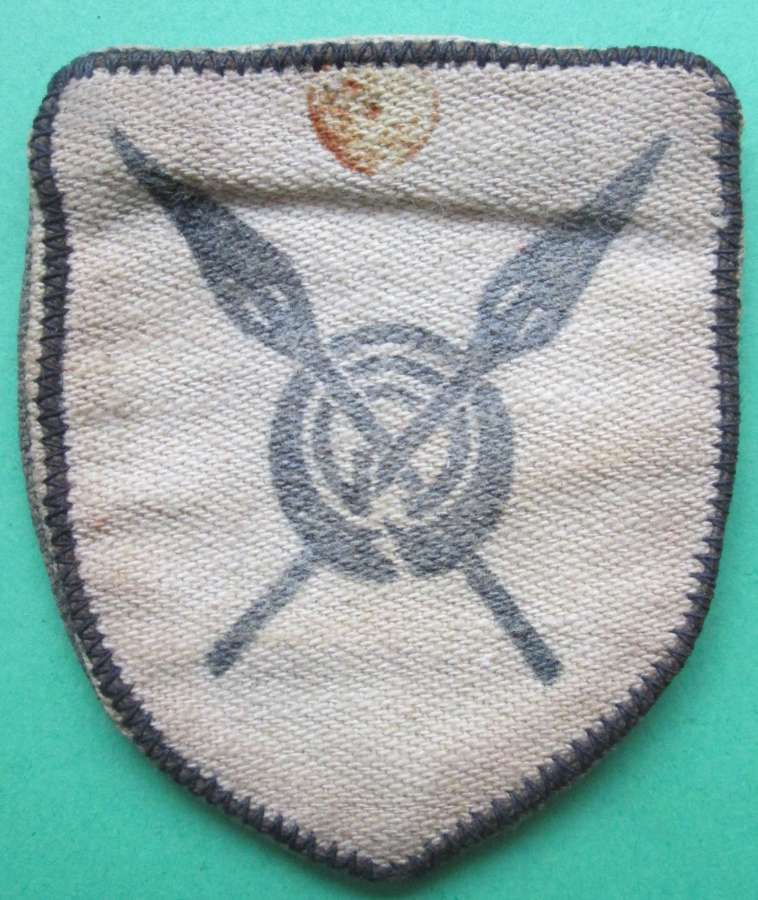 A WWII 82nd WEST AFRICAN FORMATION PATCH