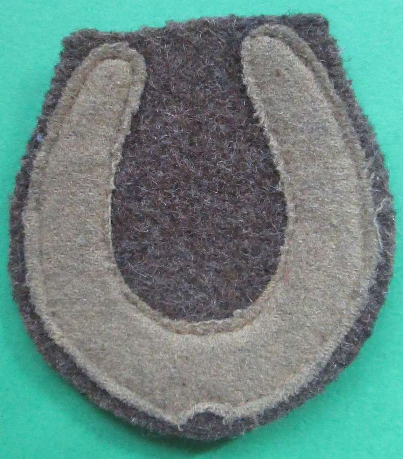 A GOOD ORIGINAL WWI 37TH DIVISION FORMATION PATCH
