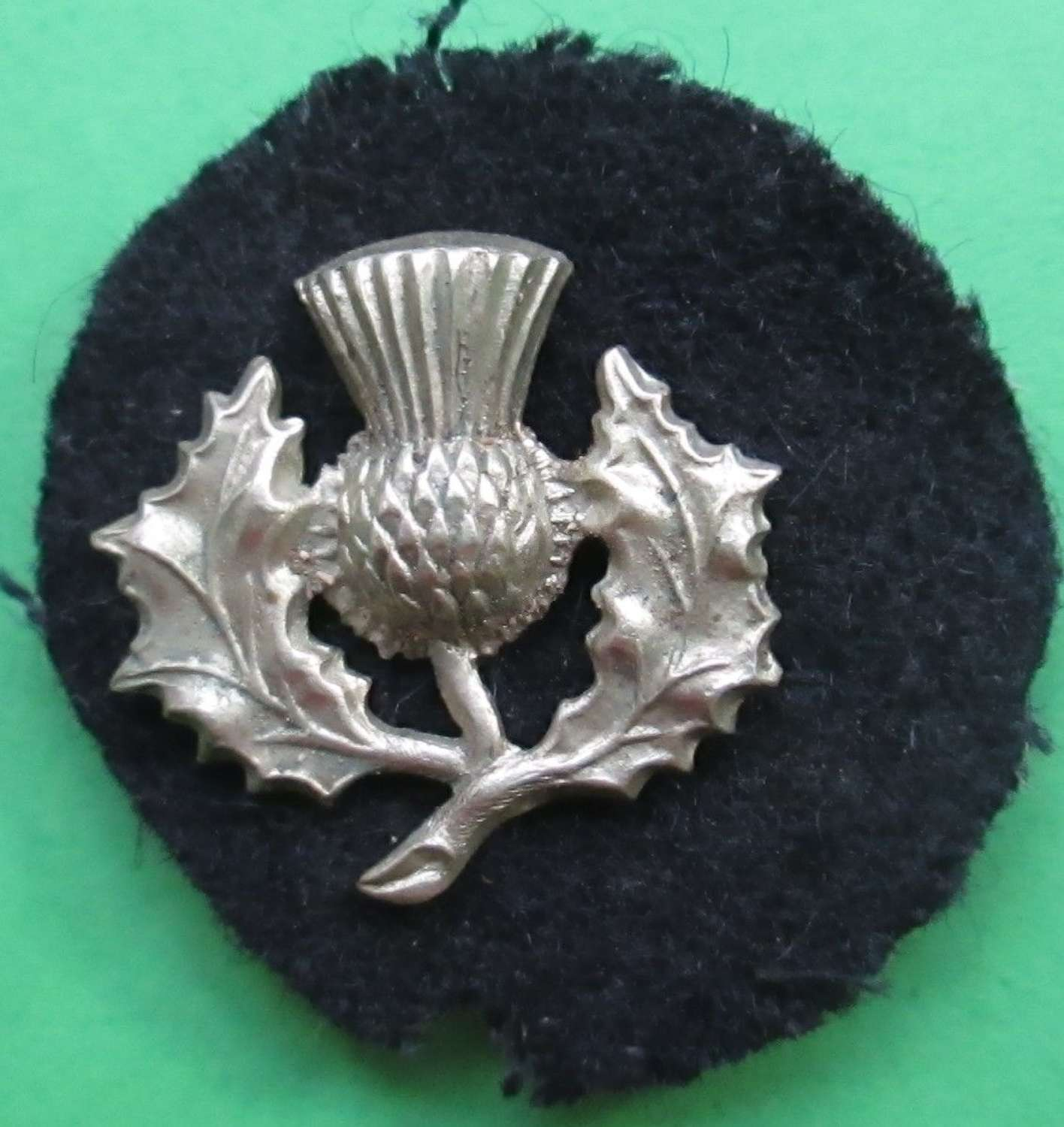 A WWI 52nd LOWLAND DIVISION FORMATION BADGE