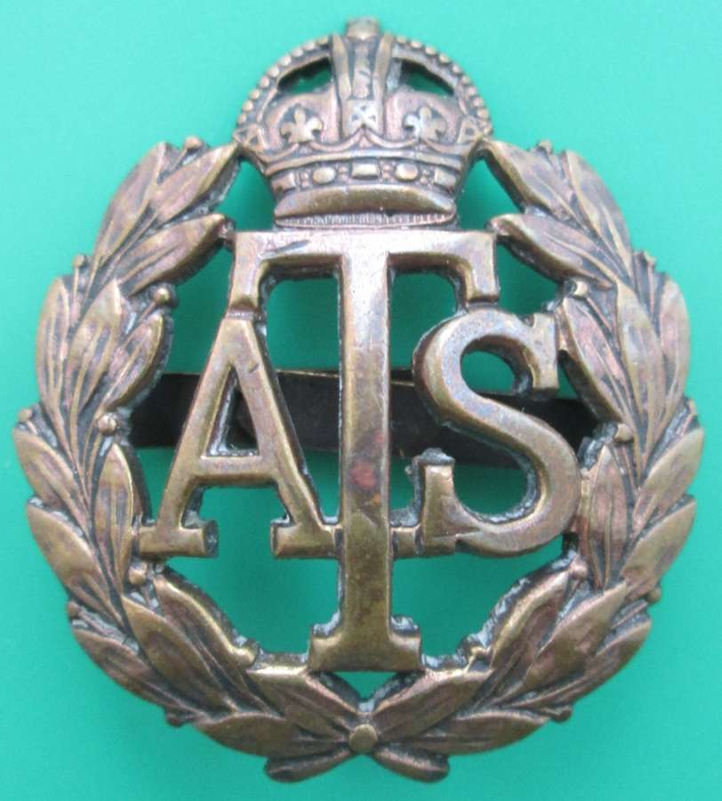 AN ATS CAP BADGE
