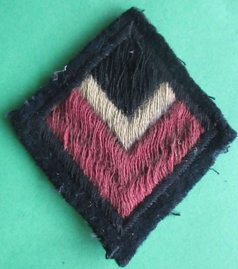 A 4TH/7TH ROYAL DRAGOON GUARDS ARM PATCH