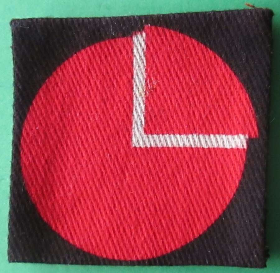 A 4TH INFANTRY DIVISION,3RD PATTERN FORMATION SIGN