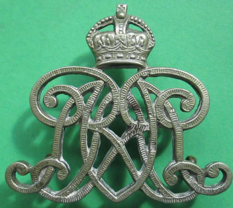 A 9TH LANCERS ARM BADGE