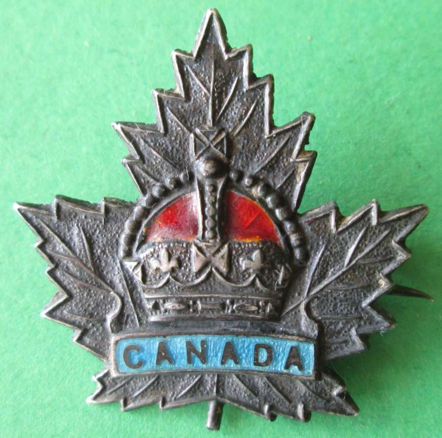 A CANADIAN SWEETHEART BROOCH