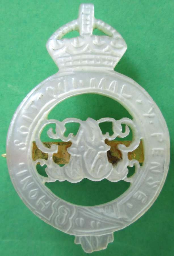 A GRENADIER GUARDS SWEETHEART BROOCH