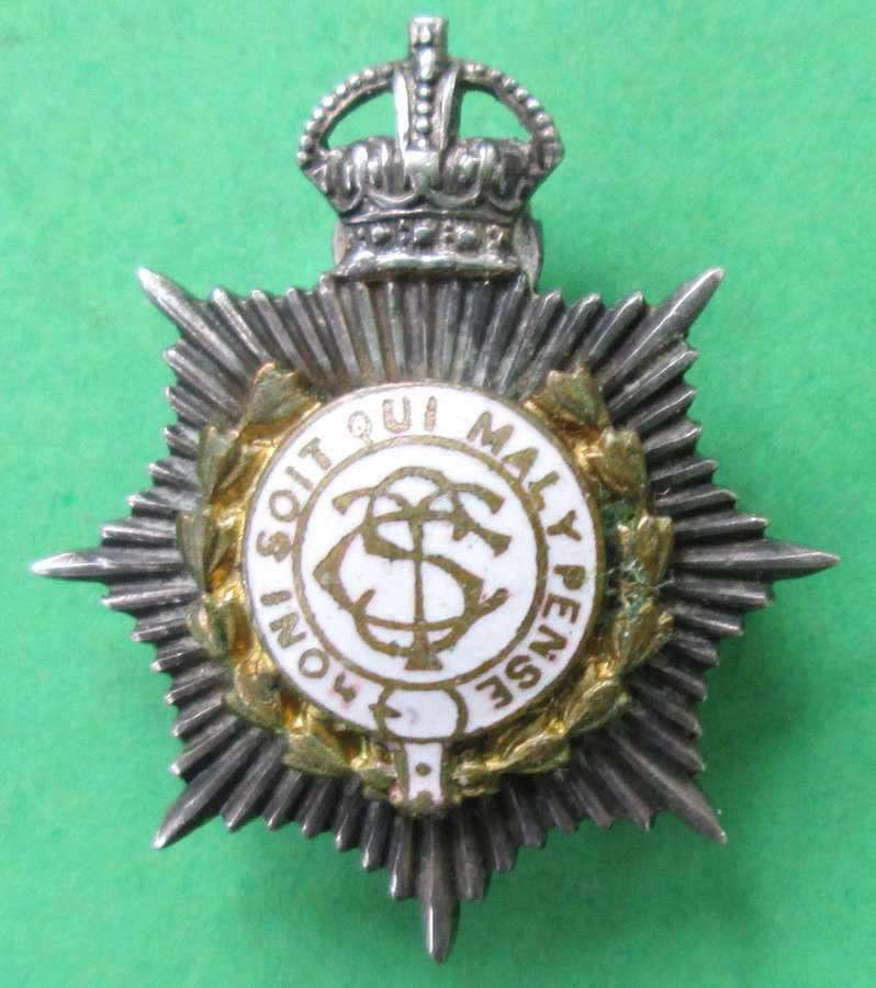 AN ARMY SERVICE CORPS BROOCH
