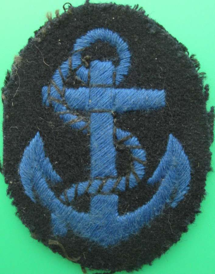 A WWII WRNS ARM BADGE