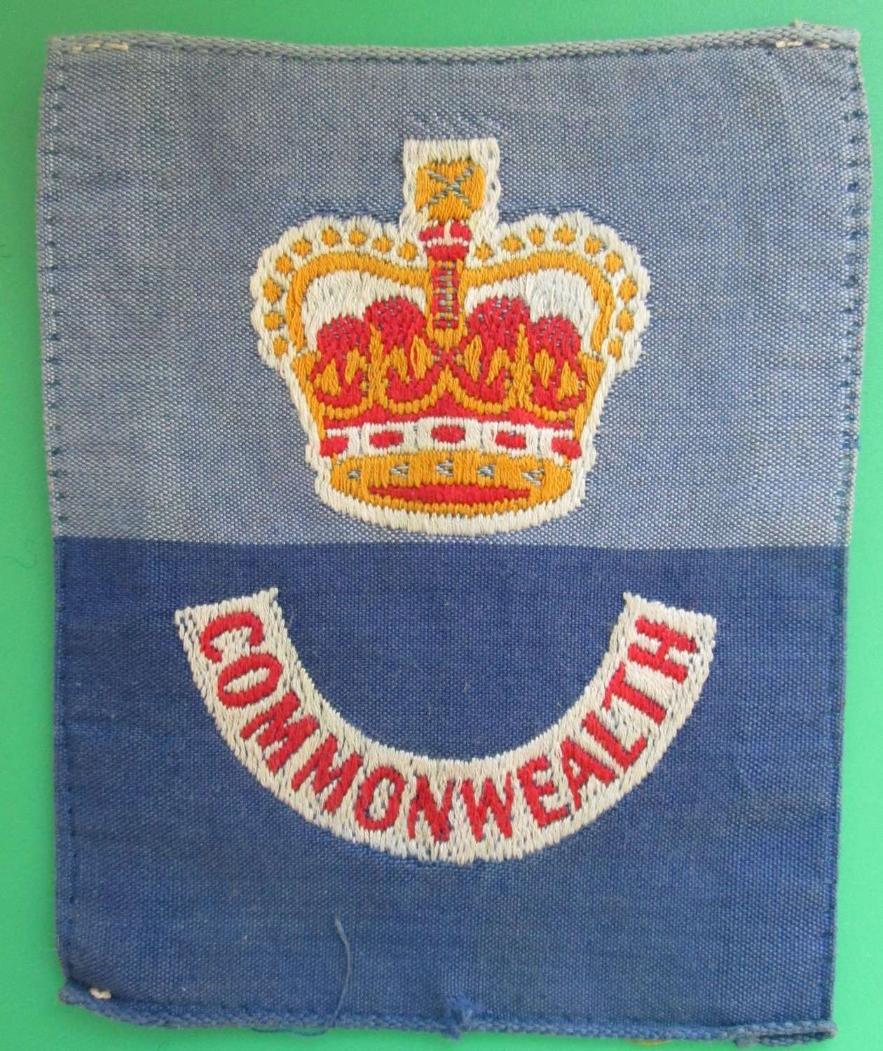 POST WAR BRITISH COMMONWEALTH FORCES FORMATION SIGN