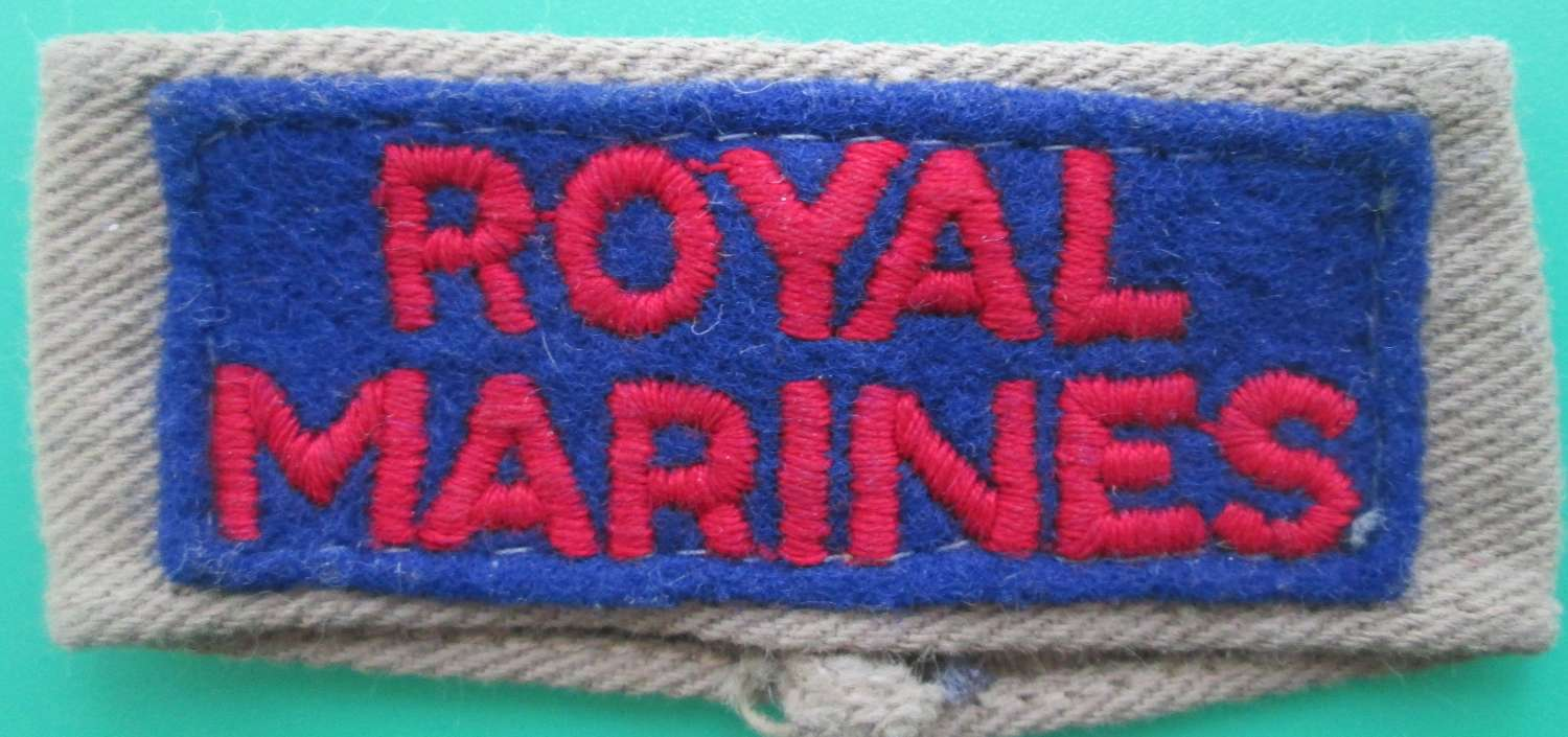 A ROYAL MARINES SLIP ON TITLE
