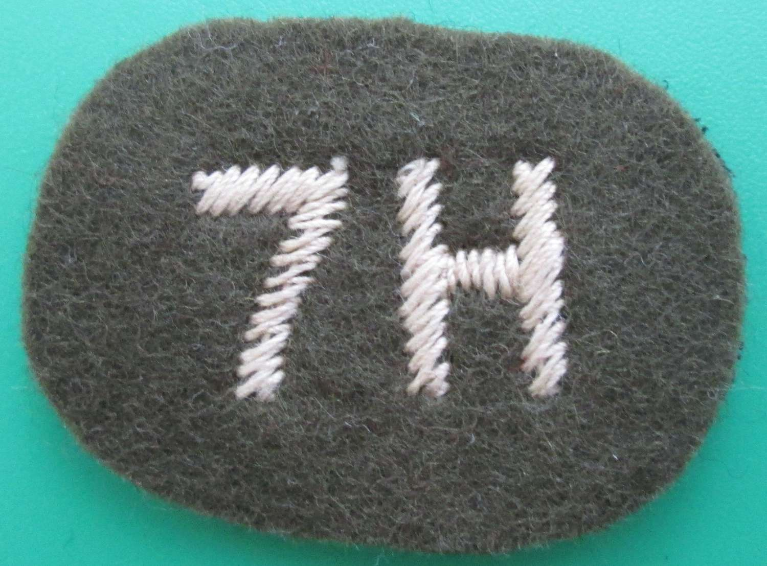 A 7TH HUSSARS PATCH